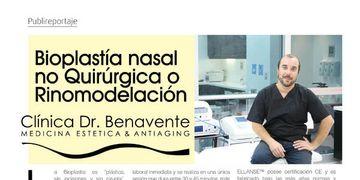 Bioplastía Nasal no Quirúrgica o Rinomodelación