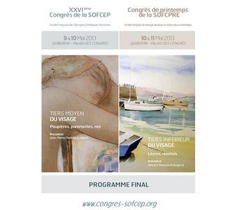 Congresos conjuntos de la SOFCEP y de la SOFCPRE