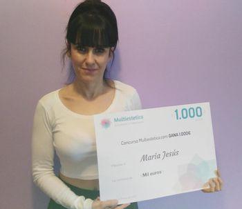 Ganadora del concurso del mes de febrero: Maria Jesús