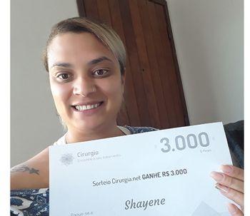 Conoce a Shayene la afortunada ganadora del mes de Julio