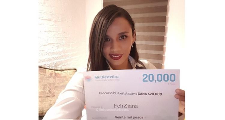 Te presentamos a FeliZiana la ganadora del mes de Junio