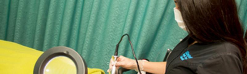 Radiofrecuencia tripolar facial