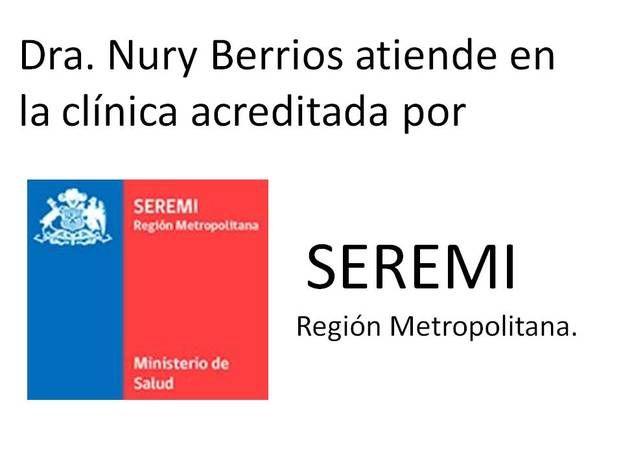 Dra. Nury Berríos Dolz