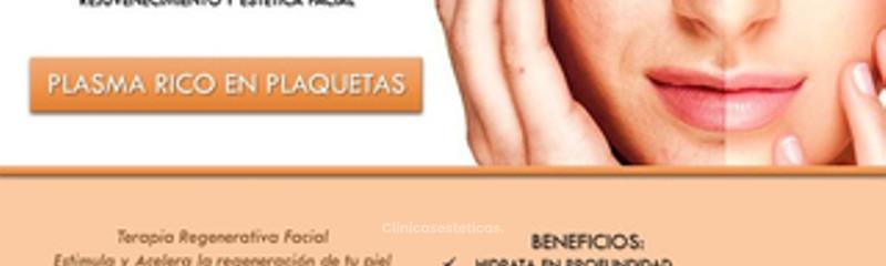 Plasma rico en plaquetas Rostro y ojeras