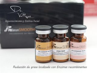 Reducción de grasa localizada con Enzimas Recombinantes PB Serum
