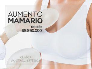 Implante mamario ¡todo incluido!