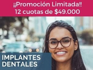 ¡Promoción implante dental!