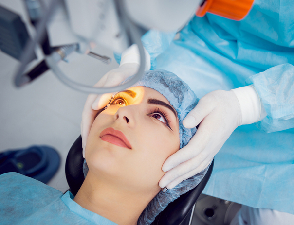 Cirugía lasik es de corta duración