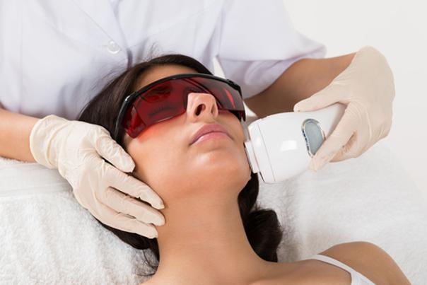 Paciente depilación láser
