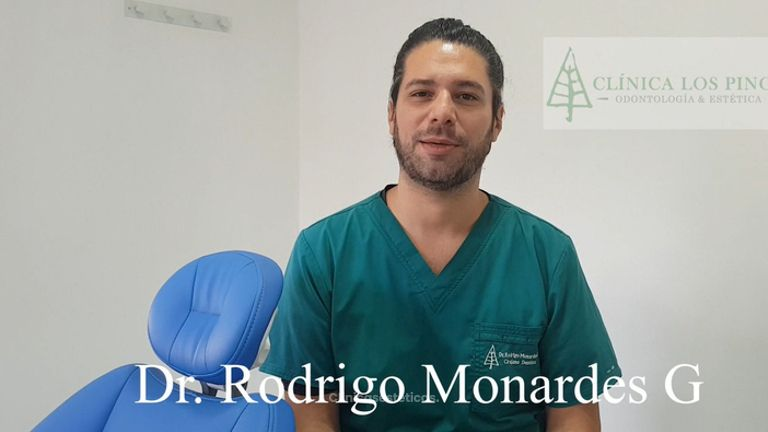 blanqueamiento dental paciente-doctor