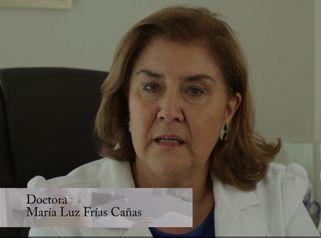 Doctora María Luz Frías Cañas - 35 años de experiencia.