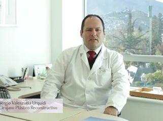 Dr. Sergio Valenzuela U. Cirugía plástica reconstructiva.