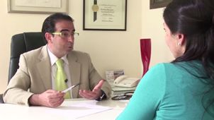 Nutriologo y paciente